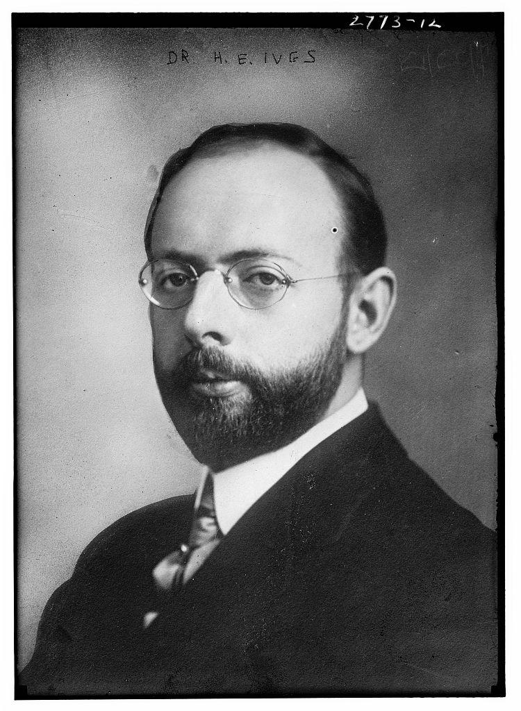 Herbert E Ives fax inventor