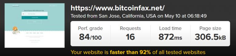 bitcoinfaxtest