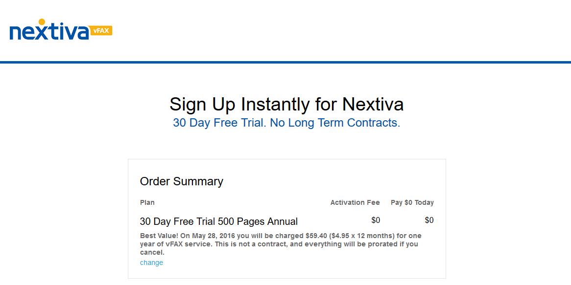 nextiva free trial