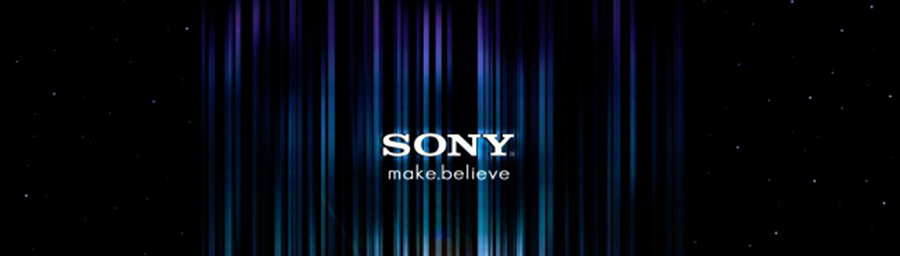 Sony make beleive logo